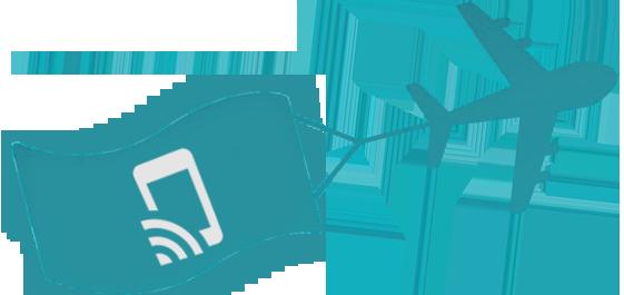 Boingo plane with Wi-FI Banner