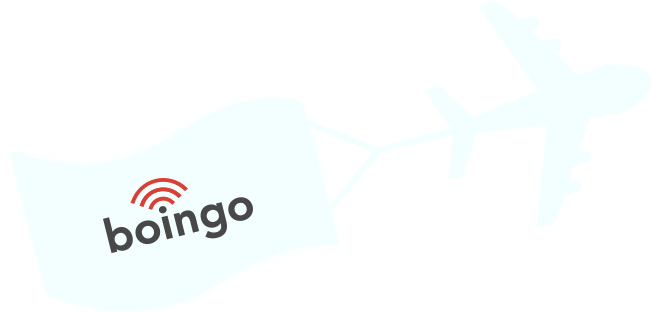 Boingo plane with Wi-FI Banner