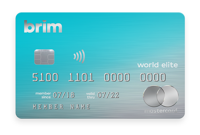 Brim World Elite Credit Card